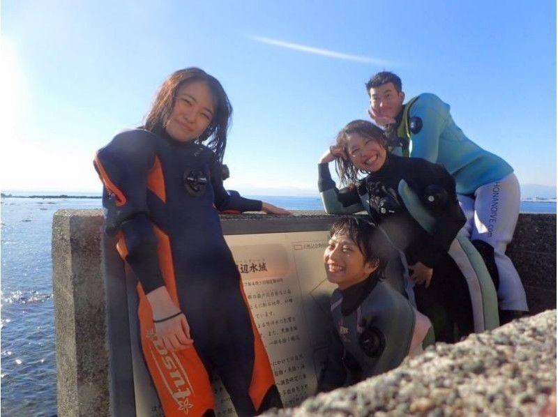 【神奈川・葉山】湘南・葉山に一番近いタンクサービス店♪  〔PADIライセンス取得コース〕の紹介画像