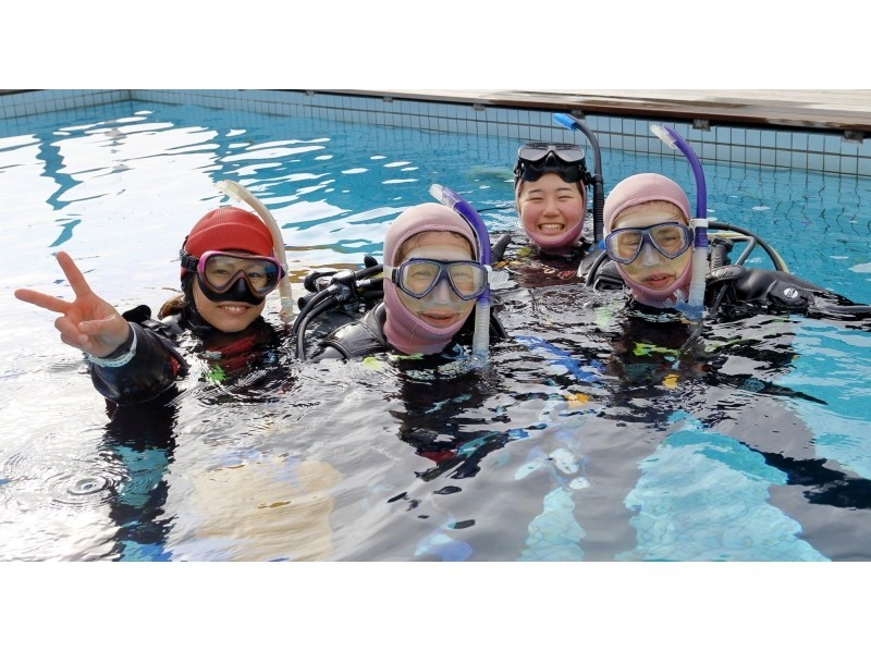 【Limited special price in April! 】 Introduction image of PADI Open Water Diver License Acquisition plan 3 day course
