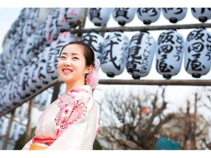 【Tokyo · Asakusa】 Kimono Asakusa Round Plan / KIMONO WALKING TOUR in ASAKUSA Introduction Image