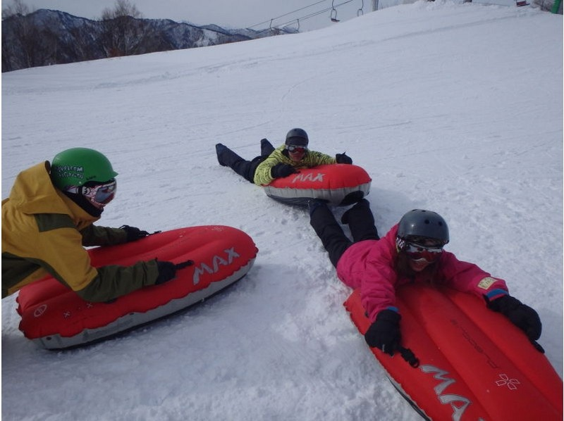 [Gunma, water / water] with lift tickets! Latest Snow activity! Introduction image of the air board experience (half-day course)