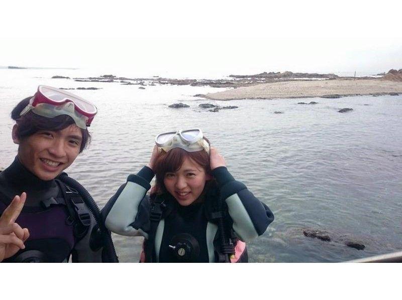 【神奈川・湘南】タンク貸しセルフ(バディ)ダイビングの紹介画像