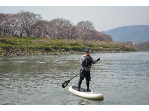 [京都·SUP經驗]八幡(Sewaritsutsumi)SUP(站起來槳)體驗計劃(全2小時)の紹介画像