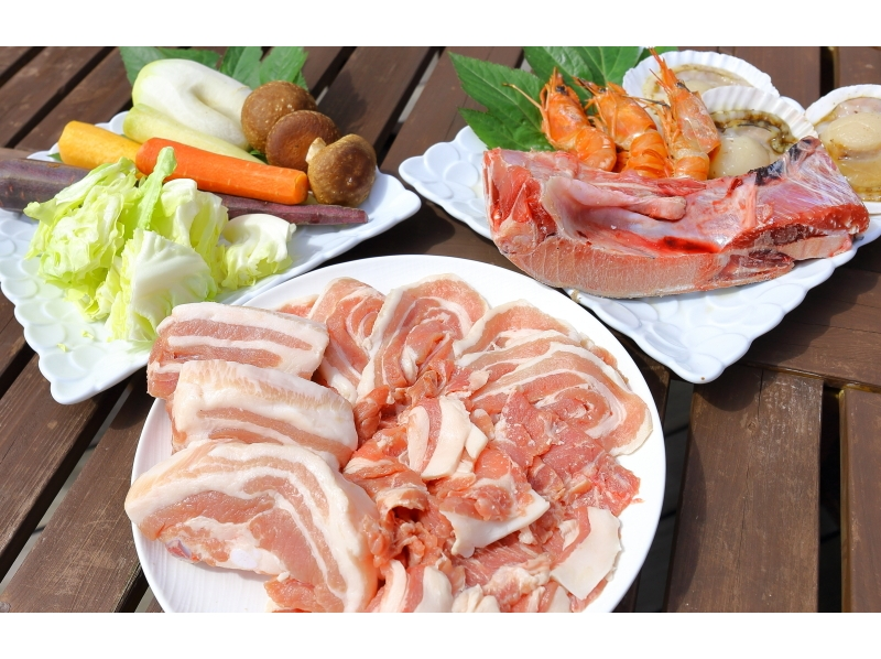 【BBQ · Miura】 OK by hand! Local produce BBQ sticking to quality, taste and price! Introductory image with all you can drink