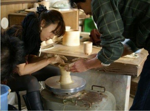 【山口・萩】萩焼の名窯でオリジナルの器づくり〔電動ろくろ陶芸体験〕