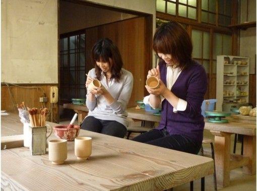 【山口・萩】萩焼の名窯でオリジナルの器づくり〔絵付け体験〕