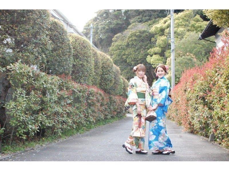 都内から1時間の鎌倉!美しい景観を訪ねるからには、自分も美しくならなくちゃ!《着物レンタル》やってみました~!