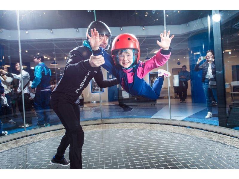 【受付終了】日本初上陸!話題の屋内スカイダイビングで 宙を舞おう!今なら1フライト追加サービス!の紹介画像