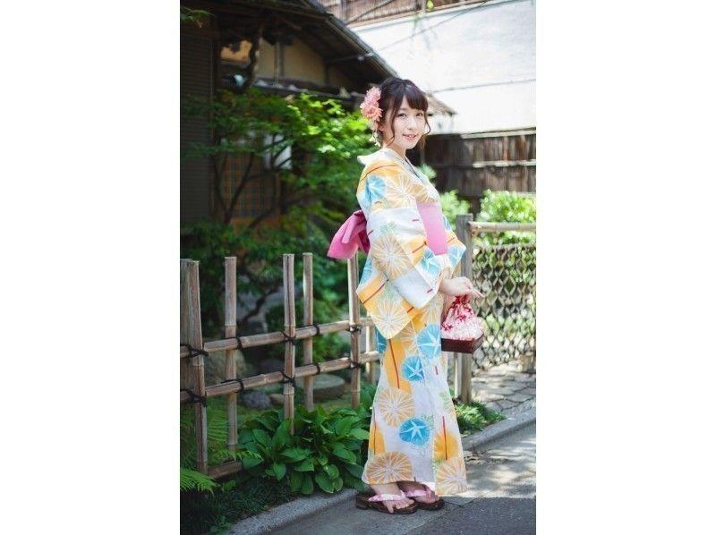 【Tokyo · Ikebukuro】 Walking around Ikebukuro with Yukata! Introduction image of [Yukata rental & dressing plan]