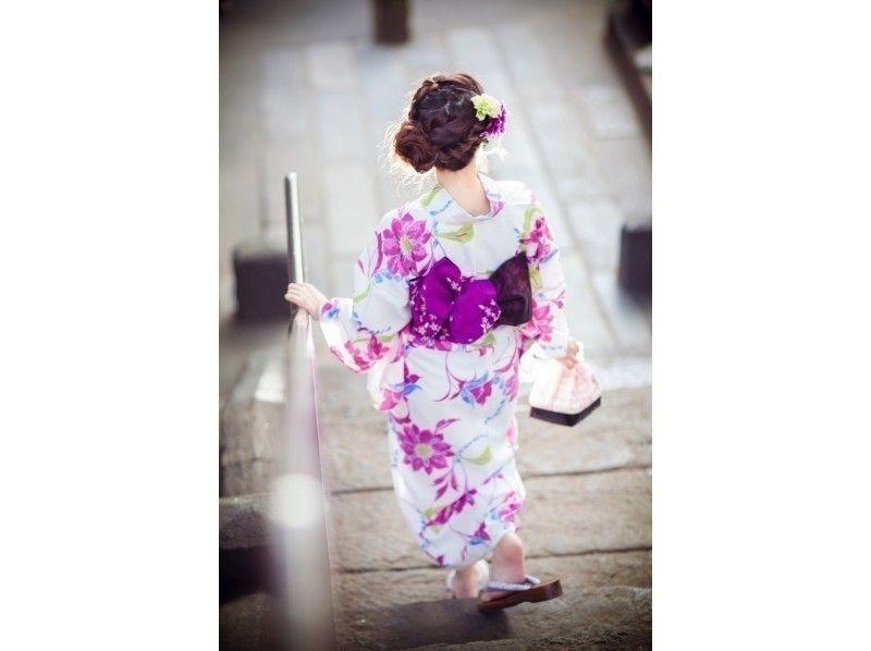 【Tokyo · Akihabara · Yukata rental】 Feel free to introduce Yukata rental & dressing plan introduction picture