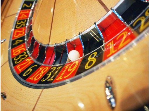 """[東京歌舞uki町]在賭場玩!免費提供1張桌子,並與5位以上朋友免費享用飲料,並提供""""包機計劃""""!の紹介画像"""