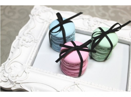 """HIS Super Summer Sale [Kanagawa / Yokohama] Just like the real thing! """"Making macaroons"""" of aroma fragrance stones You can choose the color and scent!の紹介画像"""