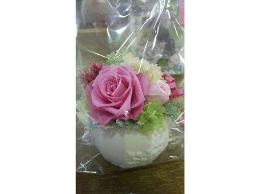 【埼玉・鴻巣】いつまでも美しいお花を作れる「プリザーブドフラワー体験レッスン」