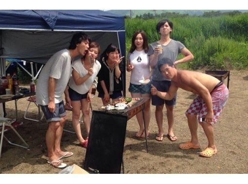 【山梨・山中湖】学生必見!4名~のグループでお得なバナナボート&BBQパーティープラン