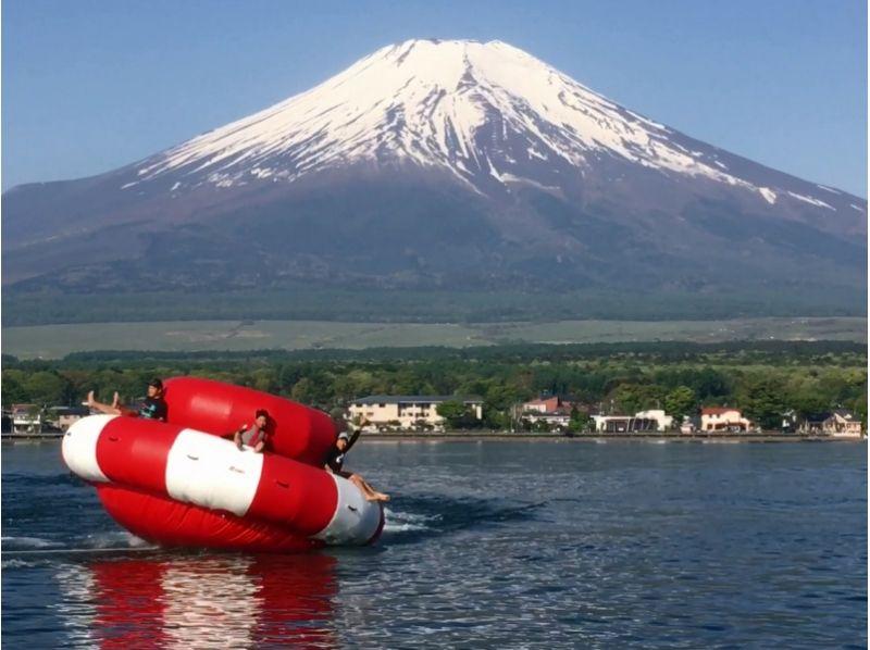 山中湖 ハリケーンボート