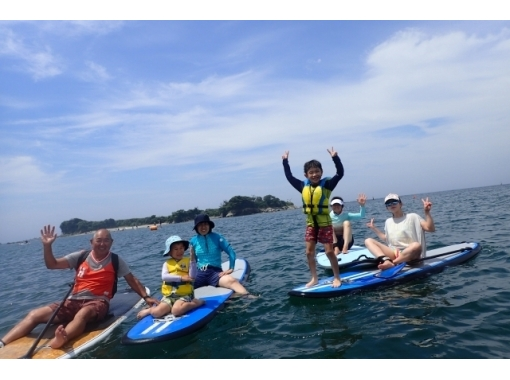 【Shonan · Zushi】 Enjoy with parent and child SUP (Stand Up Paddle Board) & Observing the Creatures of the Isolationの紹介画像