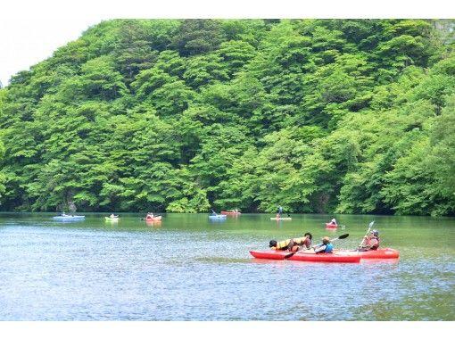 【栃木・那須】板室ダム湖カヤック体験ツアー(タンデムカヤック:那須エリア)