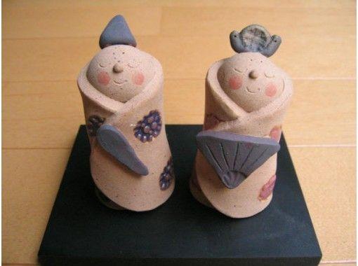 【岐阜・大垣】3才からできる、手びねり陶芸体験(人形コース)大垣城から徒歩15分!プレゼントにも!