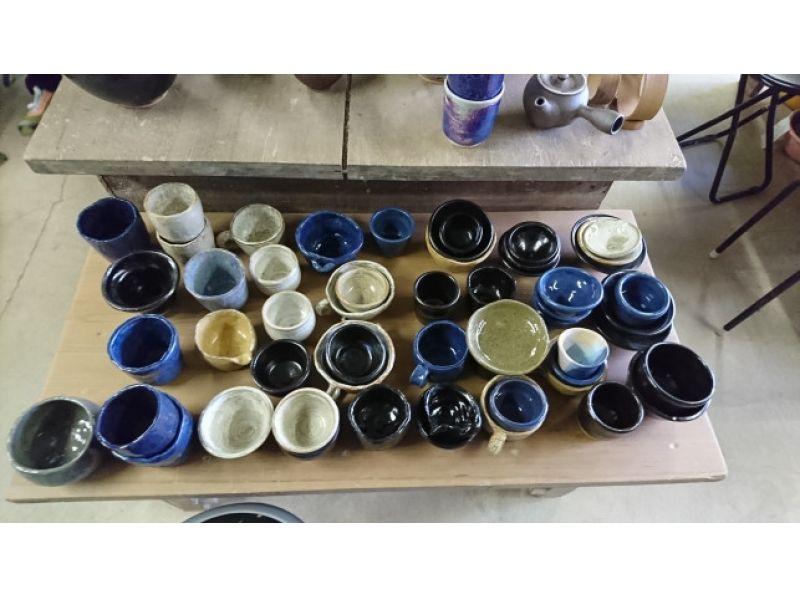 【新潟・中央区】4名以上のグループ限定「手びねり&電動ろくろ」陶芸体験プランの紹介画像