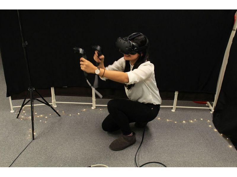 【移転中】仮想世界へ!気軽に最高品質VR体験  (30分ペアコース)の紹介画像