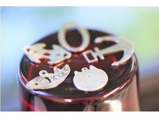 [大阪梅田]用金属雕刻制作的银吊坠体验☆创造+使用=挑剔的幸福生活♪の紹介画像