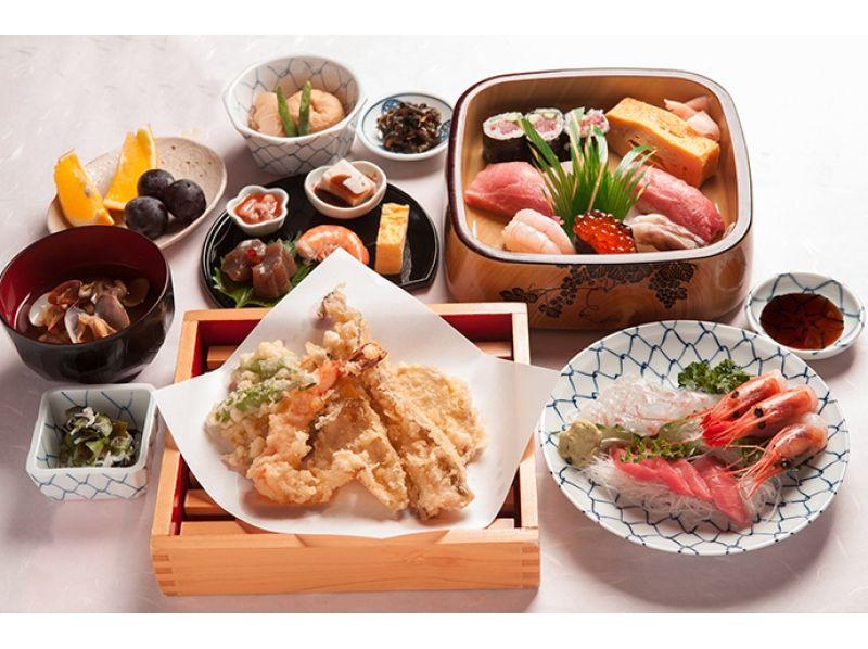 [東京灣遊艇]不是一個人享受驗收江戶壽司!萬斯遊艇150分鐘引入圖像的壽司當然