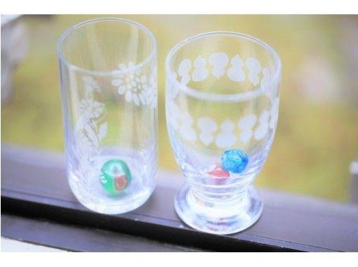 [Osaka Umeda] Sandblast glass craft experience ☆ Fashionable life starting from manufacturing ♪の紹介画像