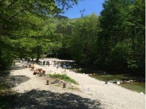 三依渓流つり場の画像