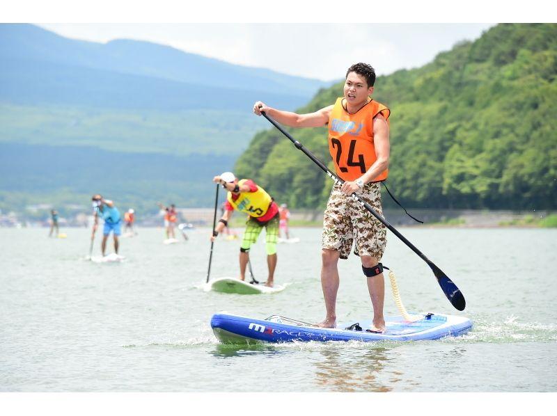 【第3回山中湖SUPerマラソン】①レースボードクラス(12.6フィート 以下)【11km】の紹介画像