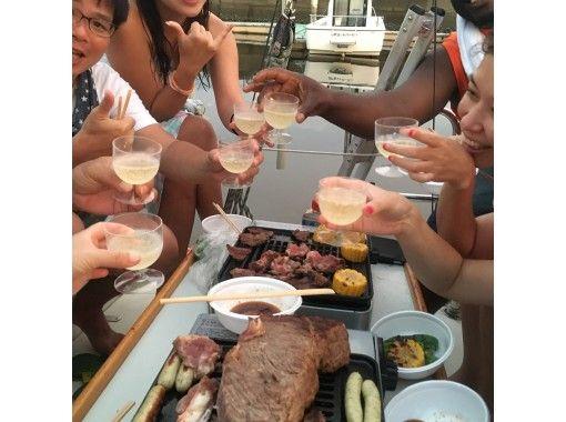 【福岡・福岡市・クルージング】平日30%OFF♪手軽!近場!非日常!BBQ &クルージングプラン
