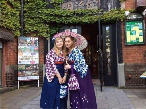 [Hokkaido, Hakodate] Recommended course for Hakodate Japanese and Western Modern Costume Rental! Walk around Hakodate in your favorite costume! 60 minutes planの紹介画像