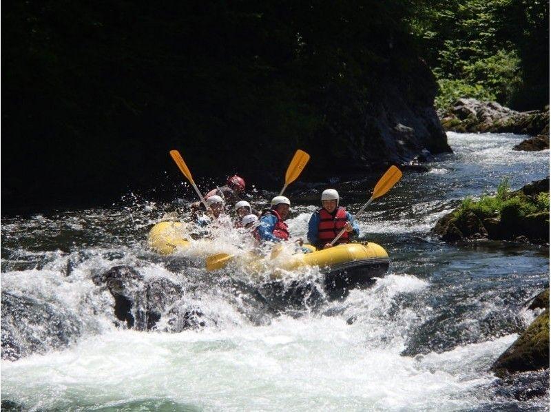 【Hokkaido · Furano】 Sorachi River Rafting Tour (half day course) Introduction image of popular No 1 ★