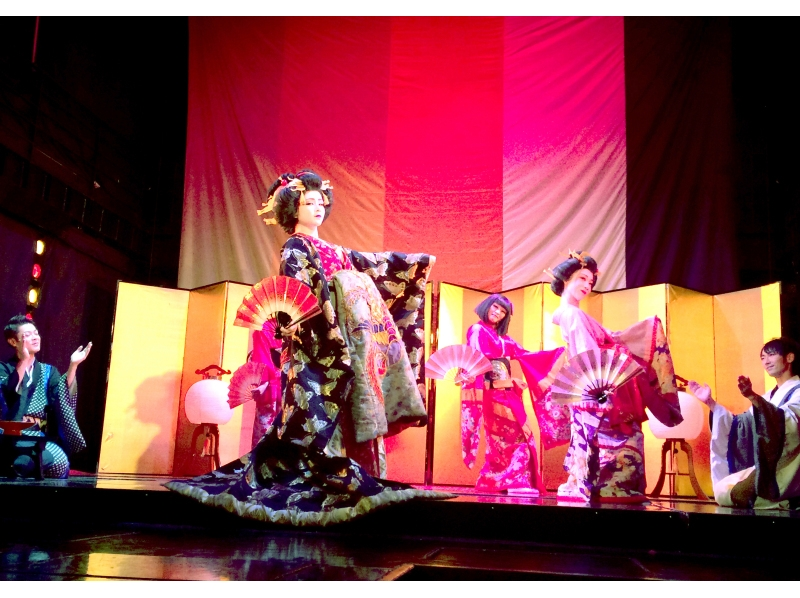 【Tokyo · Roppongi】 Saturdays and Sundays only ★ Feel free to experience! Introduction image of Heisei version Hana Dram doing show