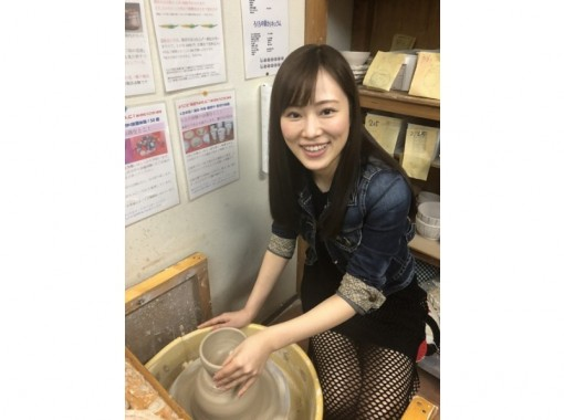 [Aichi / Nagoya Station 5 minutes] Full-scale electric potter's wheel experience (2 works + practice) You can also make your own!の紹介画像