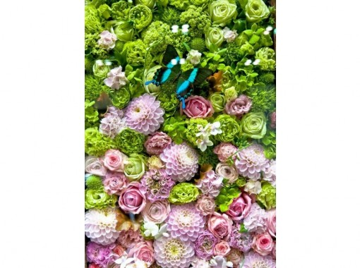 【熊本・熊本市】季節の生花でフラワーアレンジメント体験!(60分プラン)手ぶらでお越しください!