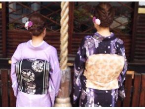 レンタル着物・着付け『寺町美人』の画像