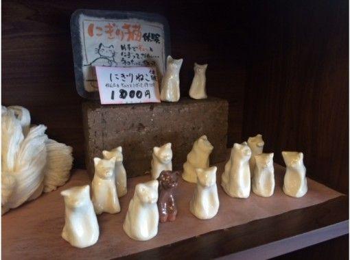 【奈良 陶芸体験】 信楽の土で可愛い「にぎりねこ」をつくろう