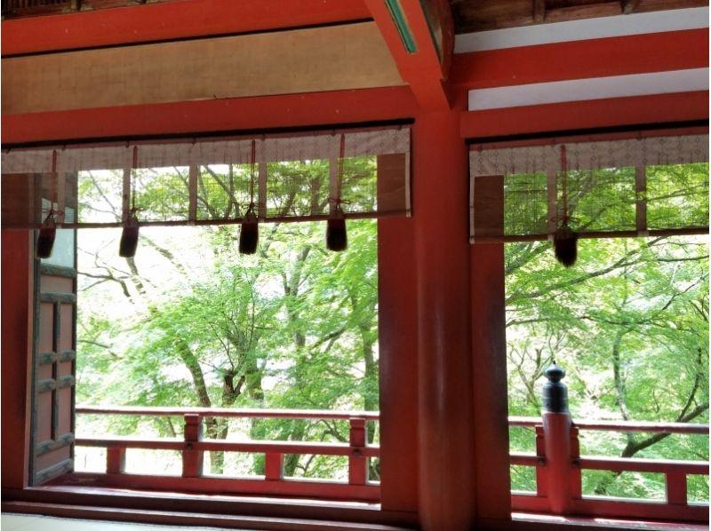 【奈良・伝統文化体験】「談山神社」勅使の間での特別参拝の紹介画像