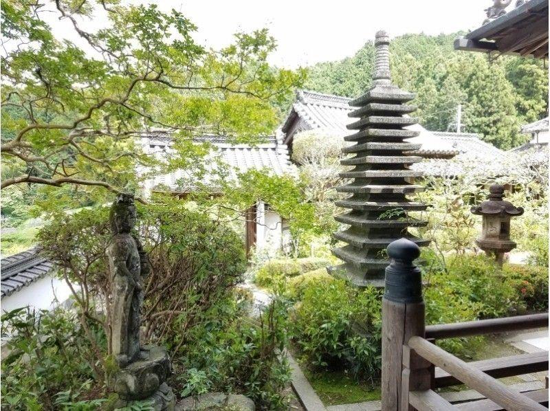 【奈良・伝統文化体験】「聖林寺」写経体験とフェノロサも魅了された国宝十一面観音立像拝観~お抹茶付き~の紹介画像