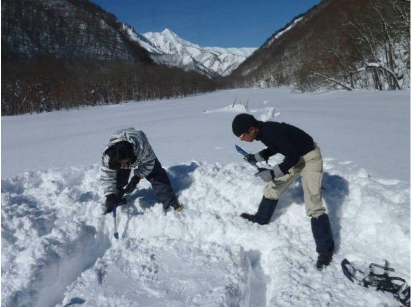 引入圖像[群馬,水]雪鞋半天探索之旅