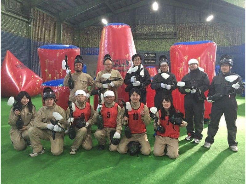 【北海道・札幌】ペイントボール体験:スタンダードプラン(Aコース)の紹介画像