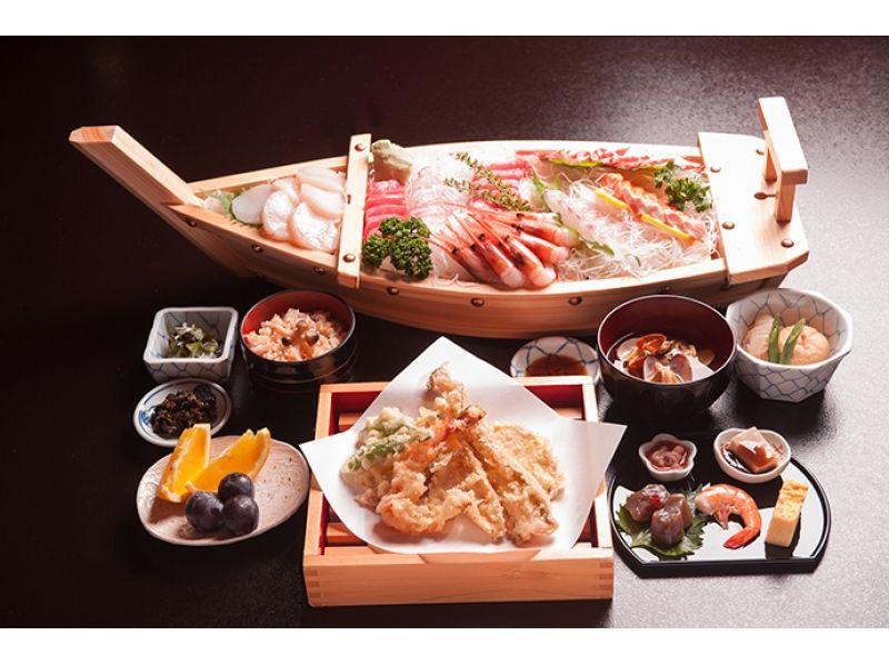【東京湾 屋形船】20名様より受付貸切屋形船 本格和食料理を楽しむ! 梅コースの紹介画像