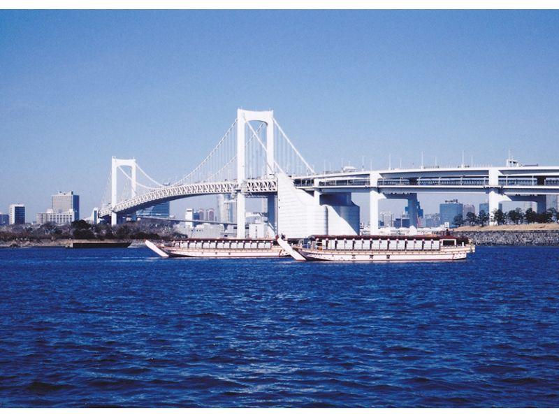 [東京灣遊艇]享受驗收包車船屋天婦羅,壽司冷盤超過20人!松樹課程介紹圖片