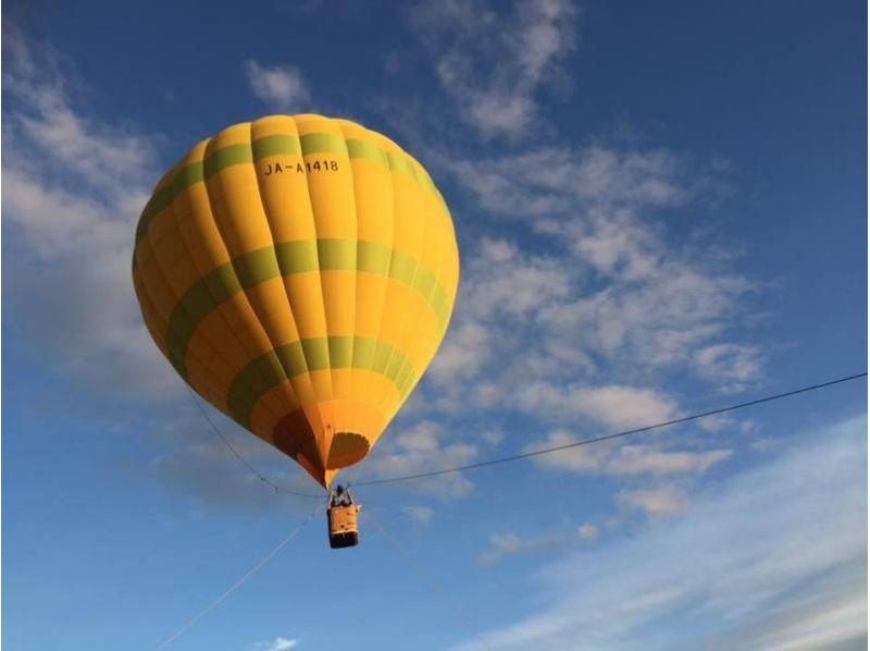【北海道・ニセコ】熱気球バルーン体験(1日2回開催★)の紹介画像