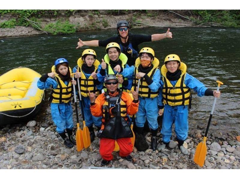 【北海道・ニセコ】尻別川漂流ラフティング体験★美しい羊蹄山を背景に自然を堪能!の紹介画像