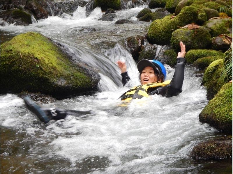 【北海道・ニセコ】キャニオニング体験★北海道の大自然を体感!の紹介画像