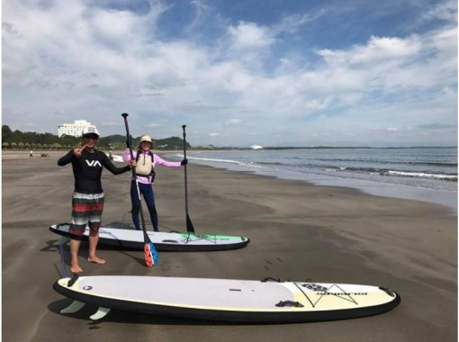 ★ 9: 00 ~ Plan ★ 【Miyazaki · Qingdao Coast】 SUP (Stand Up Paddle) Experience ★ Let's go out for a walk on the sea!の紹介画像