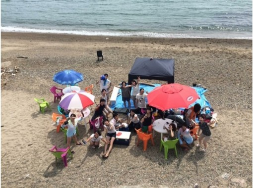 【兵庫・神戸・BBQ】プライベートビーチをでBBQ!スペース貸出プラン♪