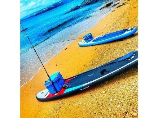 【沖縄・恩納村】SUPフィッシング!SUPと釣りを同時に楽しめる!未経験者も大歓迎!
