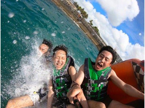 [지역 일반 쿠폰 대상】 ★ 코로나 대책 만전 ★ 오키나와의 바다를 놀이 다할! 볼륨 만점 3 점 선택할 만족 플랜 ♪ [GOPRO 사진 자료 무료 선물]の紹介画像