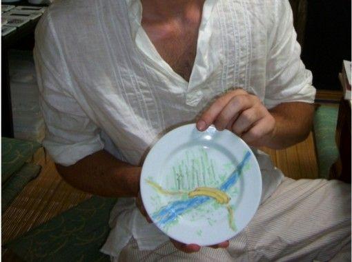 """[佐贺县/西松浦郡]创造美好的回忆!有田陶器绘画经验""""菜式""""徒手!の紹介画像"""